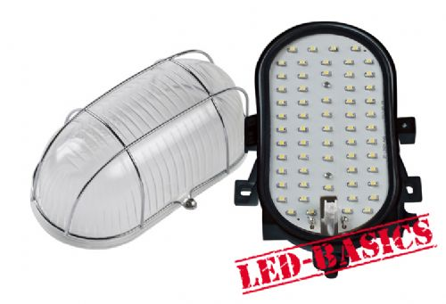 LED-Basics, Outdoor Lighting, Dean Outdoor LED Utility Bulkhead Light